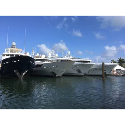 Palm Beach Boat Show by Lisa Overing.