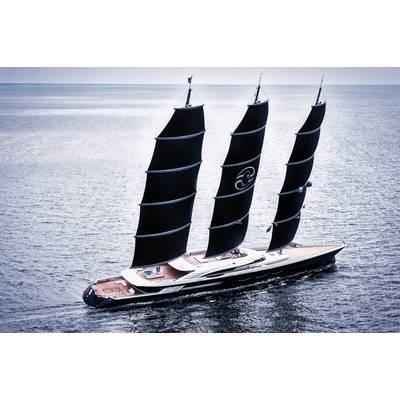 S/Y Black Pearl Photo courtesy of Oceanco