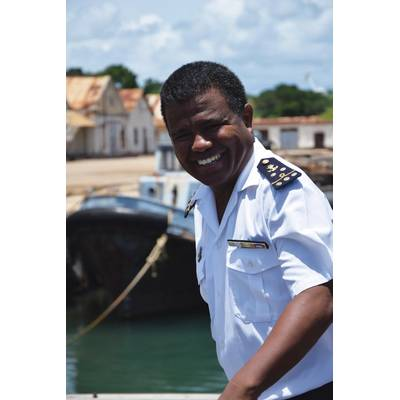 Commandant Vaohavy, Commander of the Malagasy Naval Base in Antsiranana