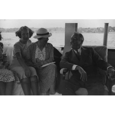 Franklin D. Roosevelt on the U.S.S. Potomac near Hyde Park in 1937 (Photo: Franklin D. Roosevelt Library Public Domain Photographs, 1882 – 1962)