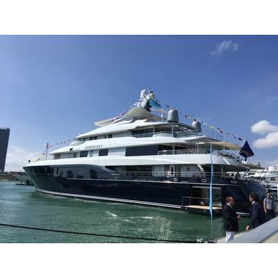 Miami Yacht Show. Photo by Lisa Overing.
