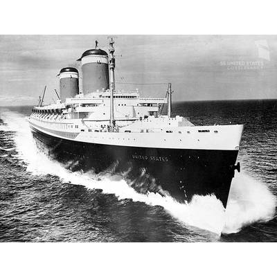 The previous record had been held for 38 years by the SS United States (1952 - 1990).
