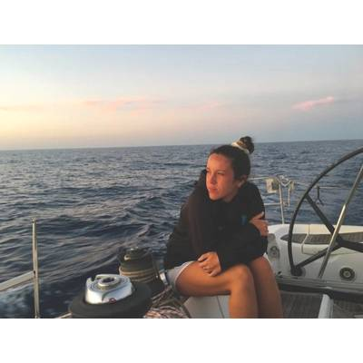 Sailor and biology graduate Victoria Morris says if stress and lack of food are causing orcas to attack boats in the Strait of Gibraltar, then something needs to be done to help them. (Submitted by Victoria Morris )