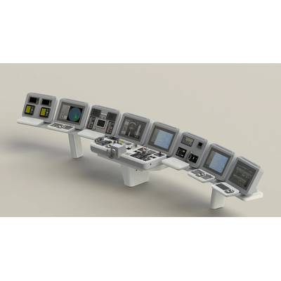 State-of-the-art navigation consoles are included in the complete bridge system. (Image: Wärtsilä)