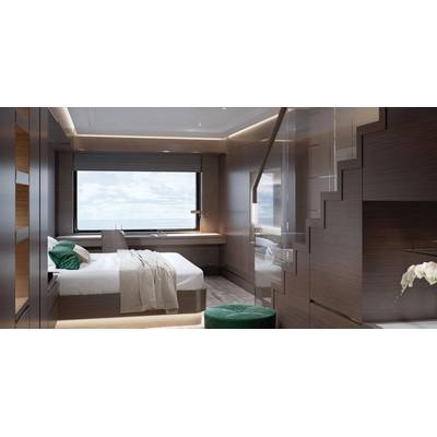 The Loft Suite. Photo credit: The Ritz Carlton Yacht Collection