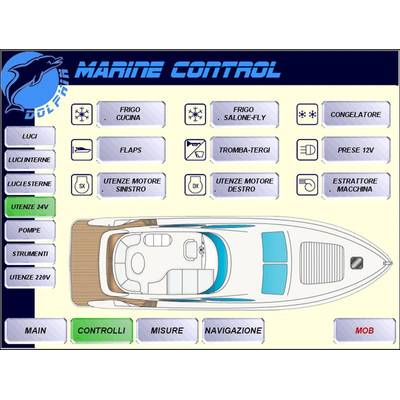 Yacht owners demand such qualities, so that navigation and boat control are as easy as possible, and that while they are physically away from their day to day lives they are not cut off from important information and personal communications. (Image: Products4Automation)