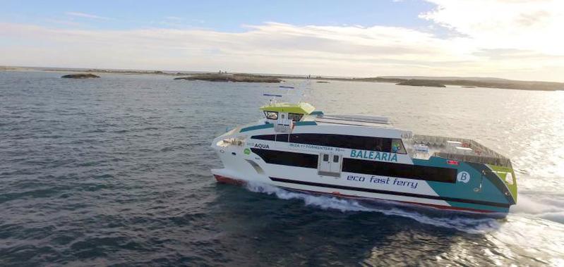 Eco Fast Ferry designed by Oliver Design for Baleària. ©Oliver Design