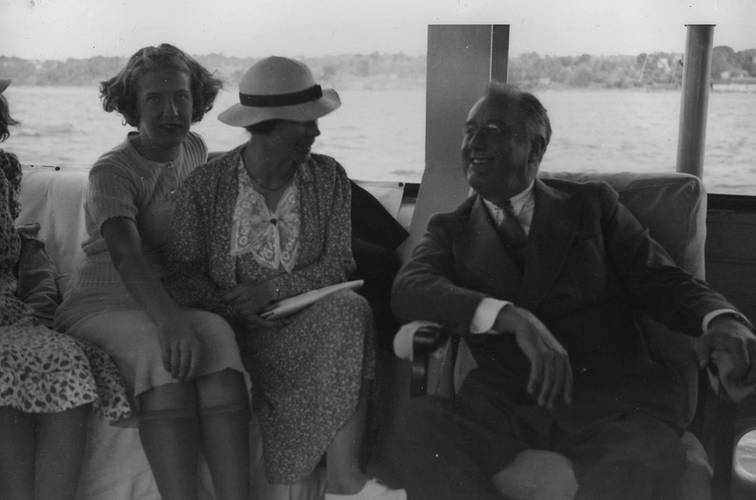 Franklin D. Roosevelt on the U.S.S. Potomac near Hyde Park in 1937 (Photo: Franklin D. Roosevelt Library Public Domain Photographs, 1882 – 1962)
